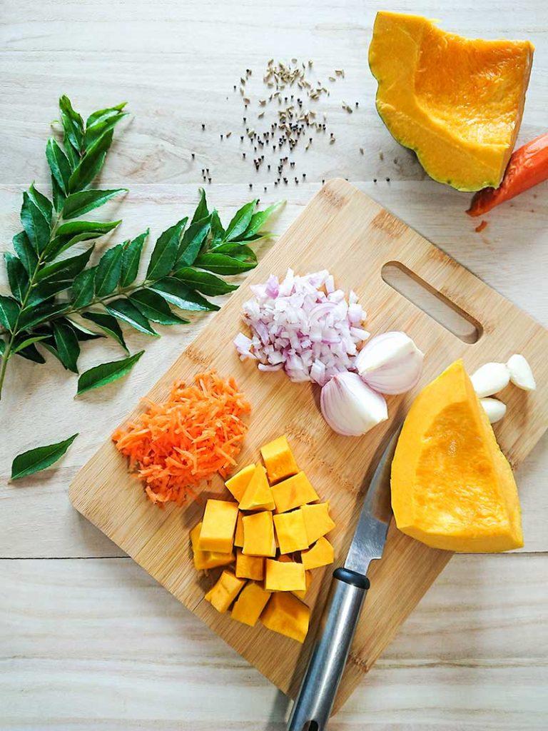 mashed pumpkin ingredients